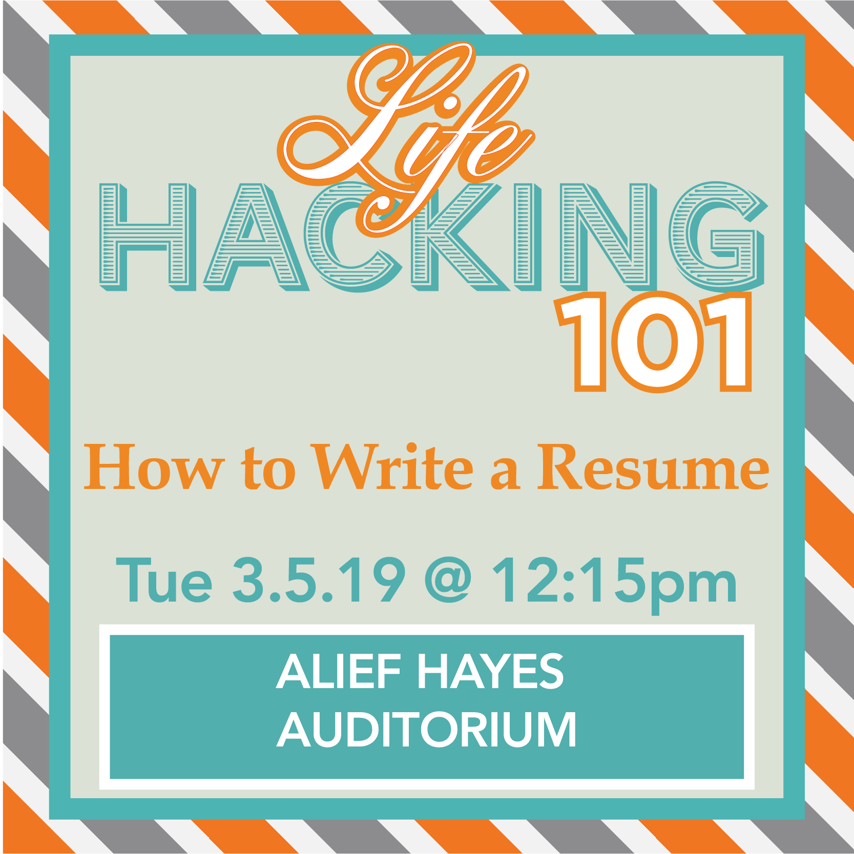 [AH] Lifehacking 101: How to Write a Resume