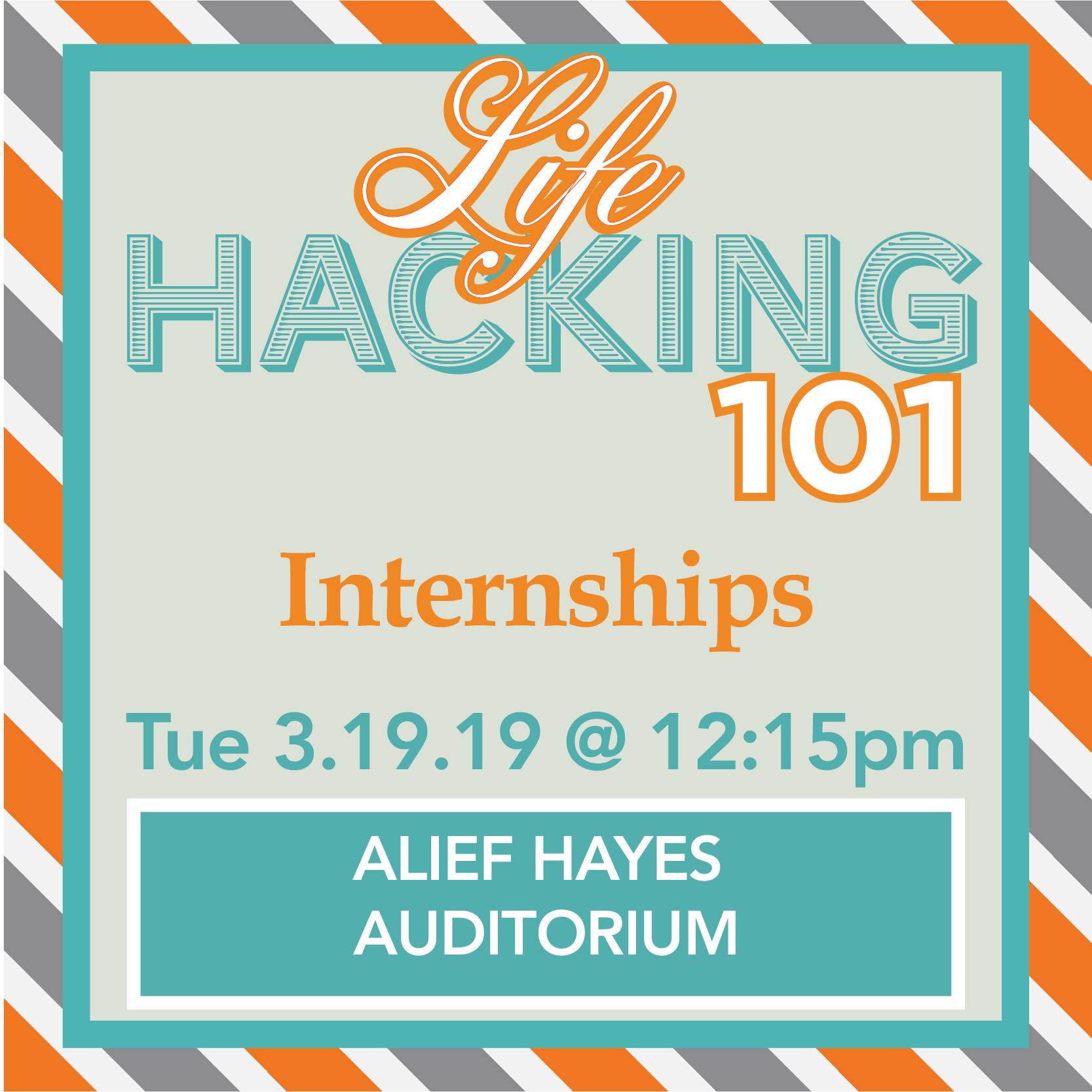 [AH] Lifehacking 101: Internships & Jobs