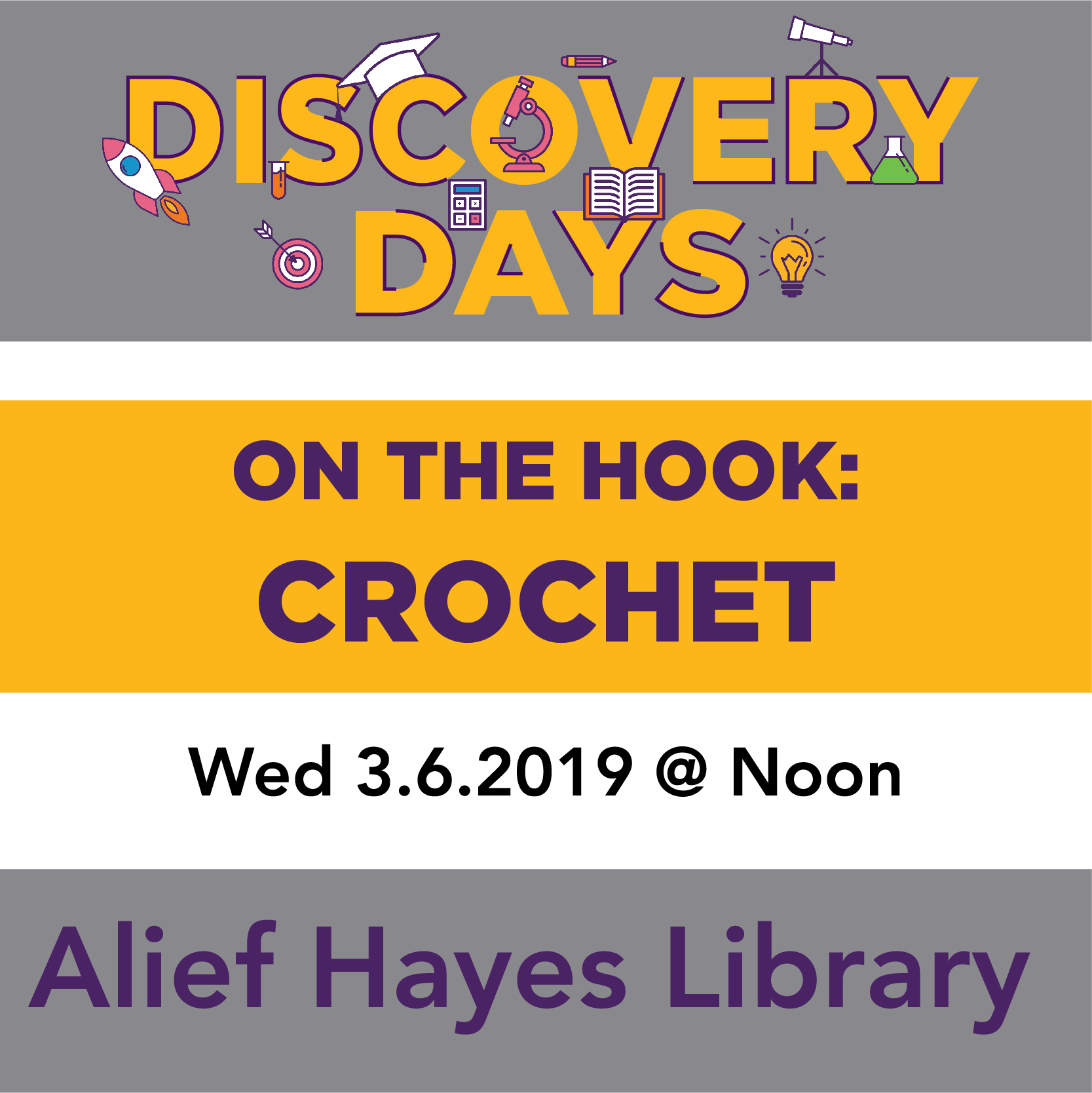 Discovery Days - On the Hook: Learn How to Crochet