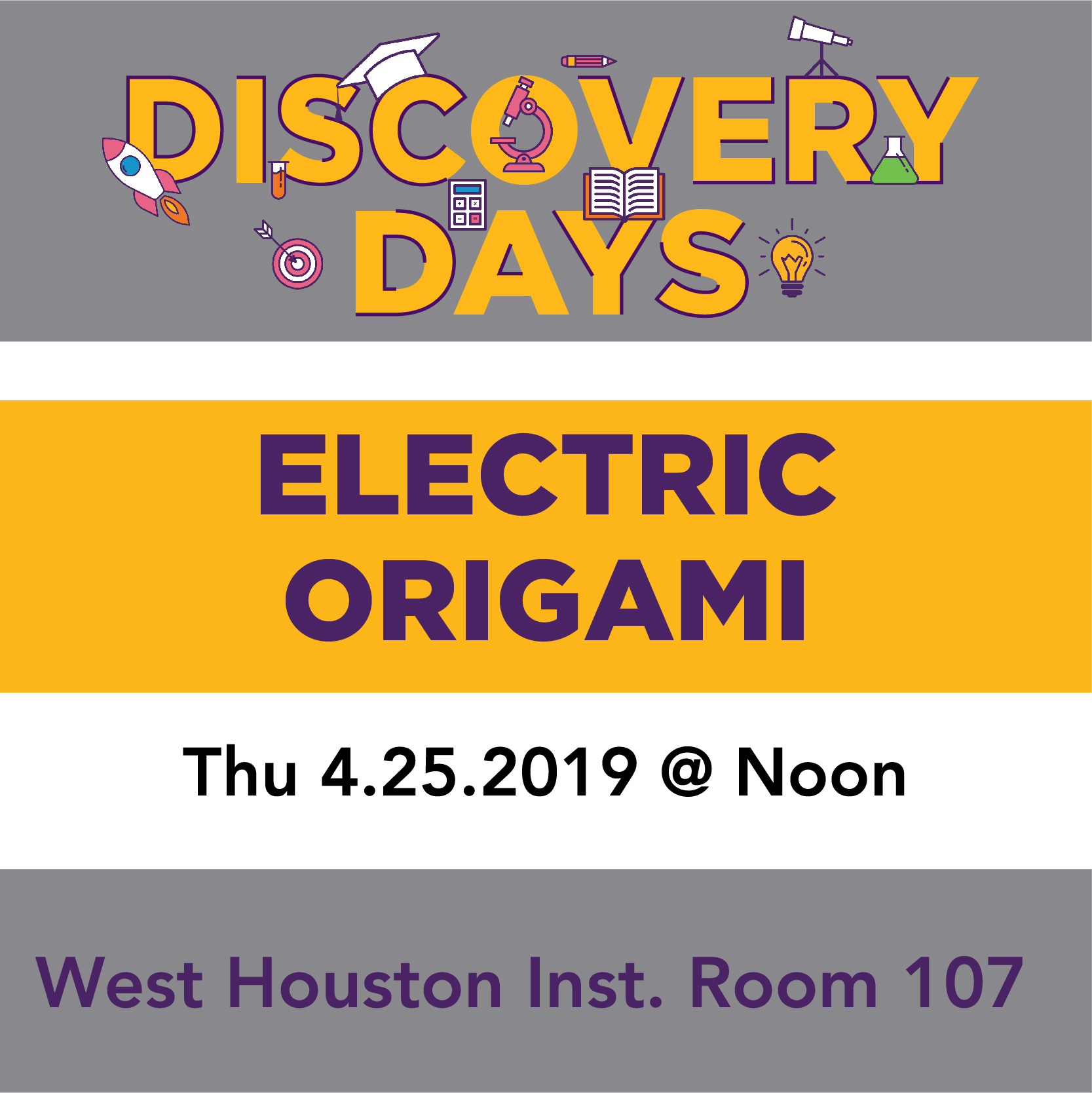 Discovery Days - Electric Origami
