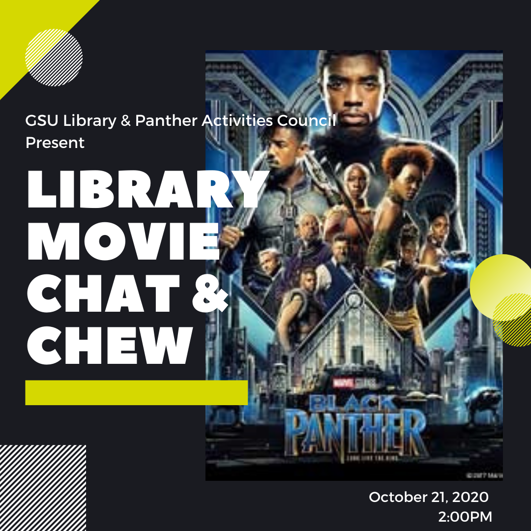 Library Movie Chat & Chew - Black Panther