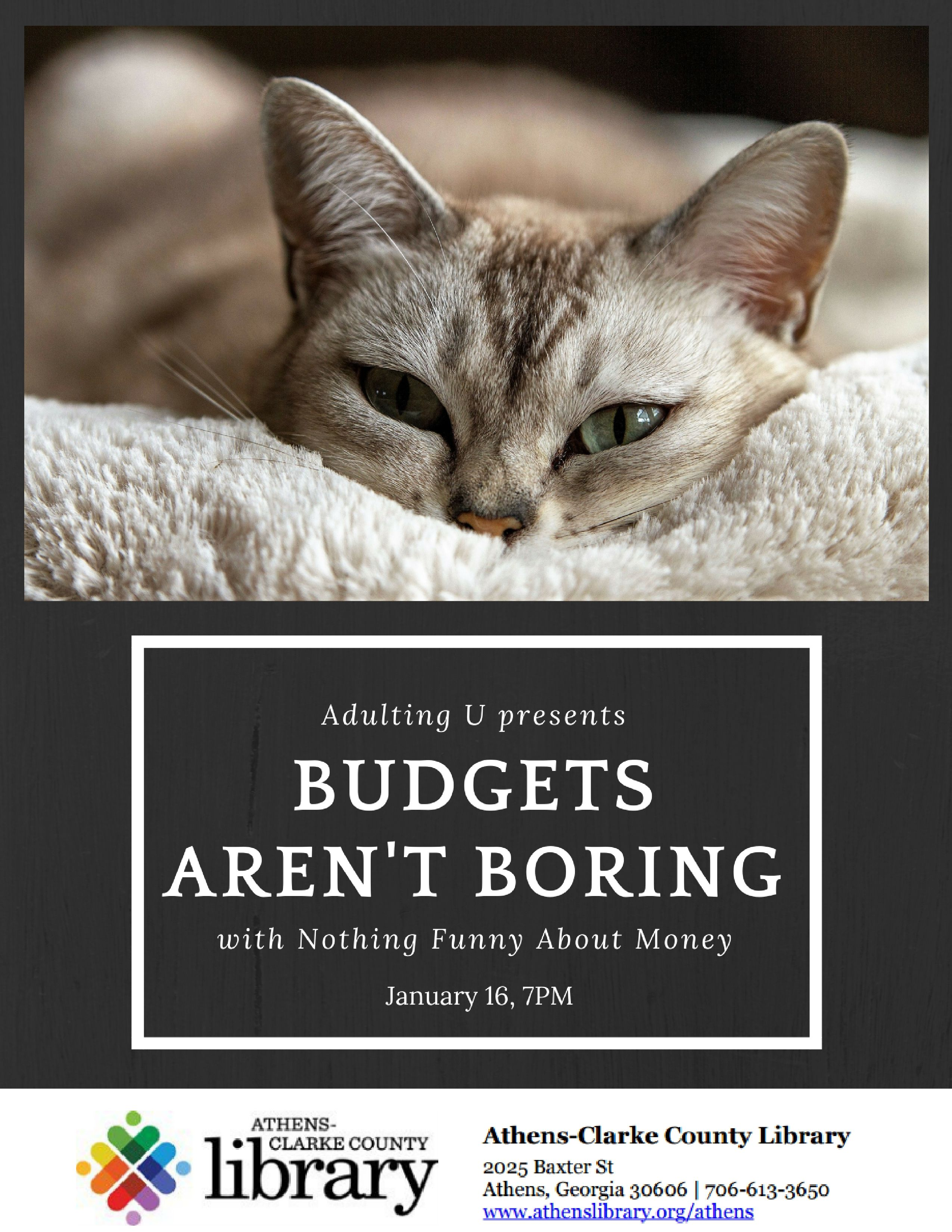 Adulting U: Budgets aren't Boring