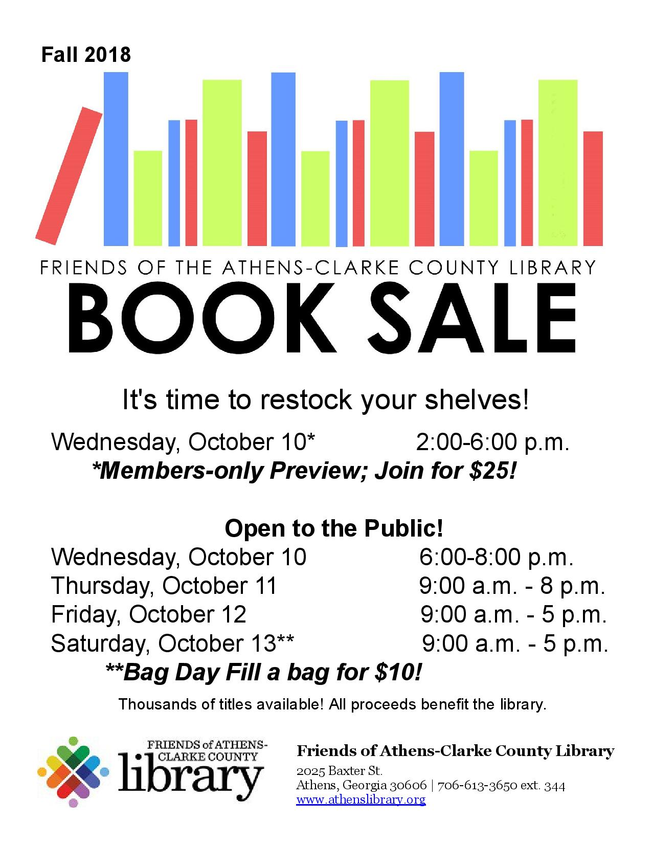 FOL Book Sale!