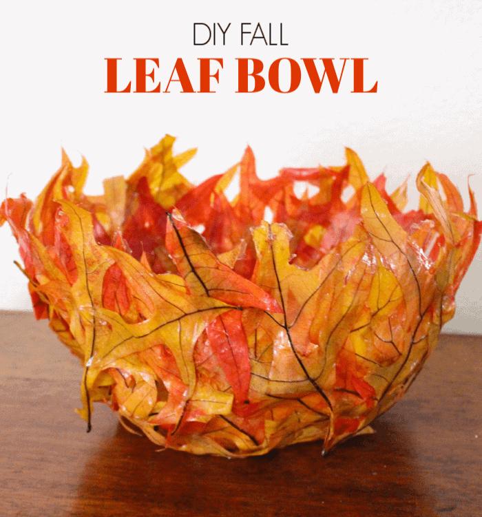 Kids' Class: Fall Leaf Bowl