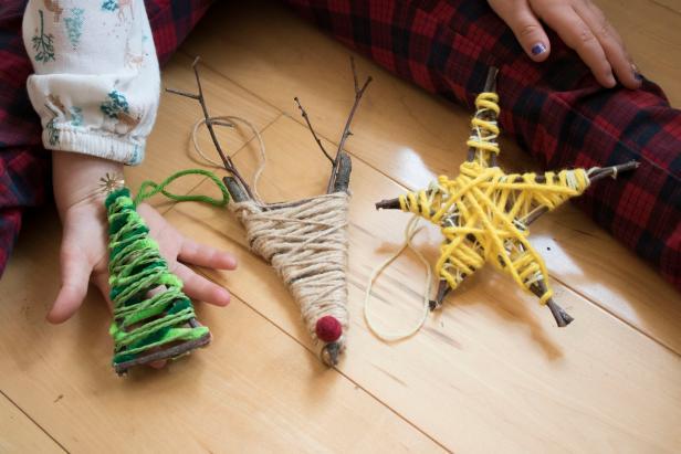 Kids' Class: Twig Ornaments