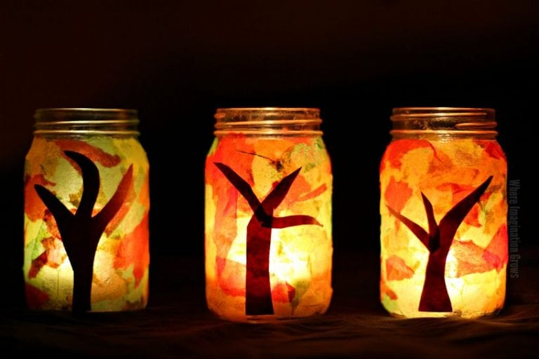Kids' Class:  Fall Tree Luminaries