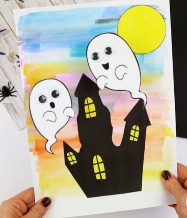 Saturday STEAM: Wobbly 3D Bobble Ghost Fun!