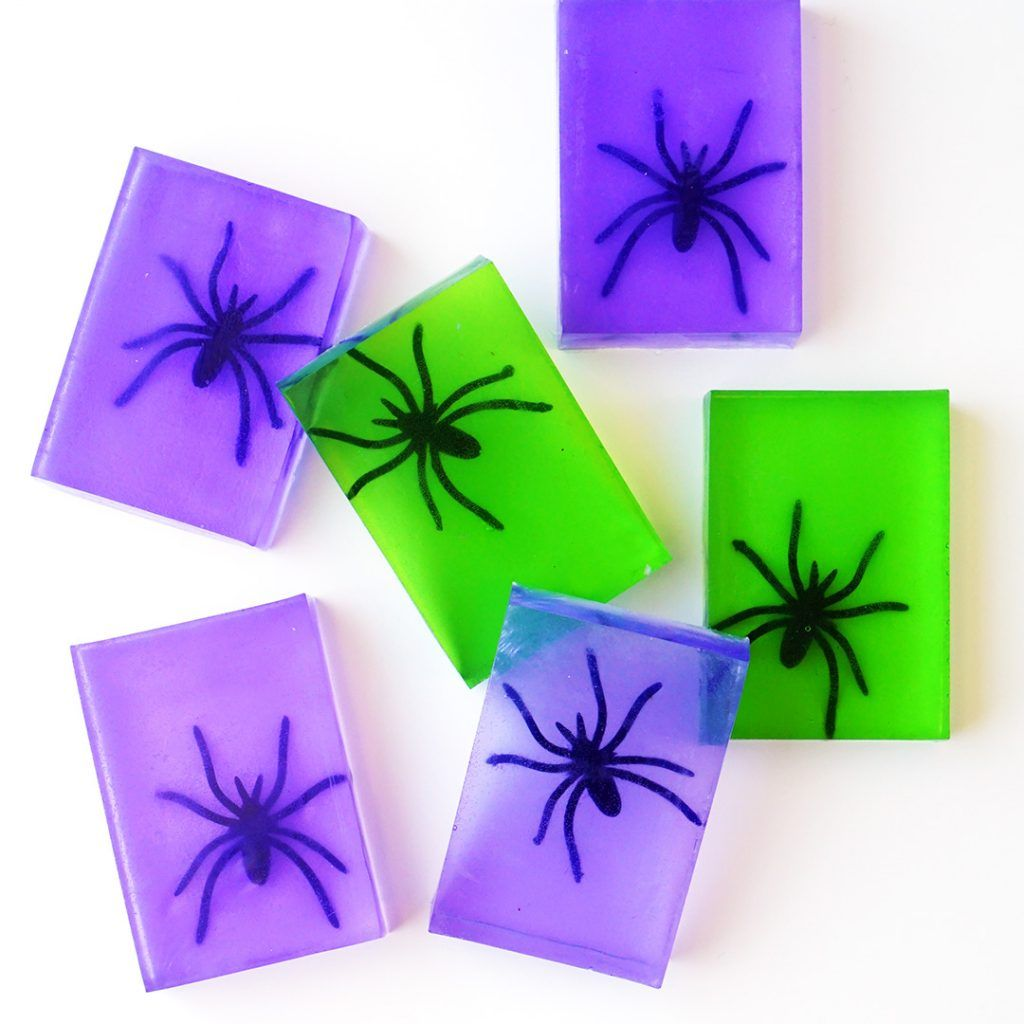 Teen Night: Spooky Spider Soap
