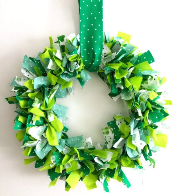 Craft and Chat: Shamrock Wreaths!