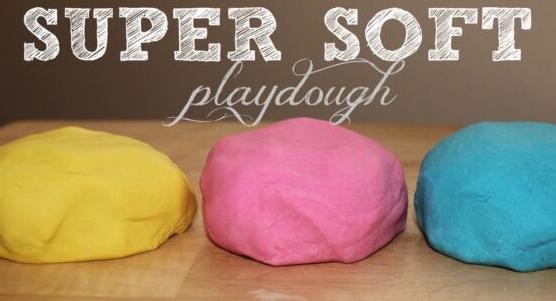 Kids' Class: Super Soft Play Dough for Daysssss!