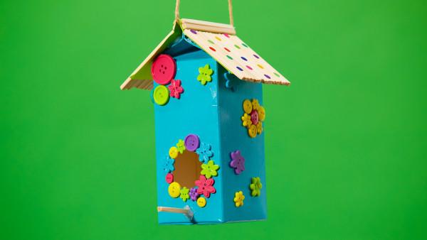 Kids' Class: Milk Carton Birdhouse