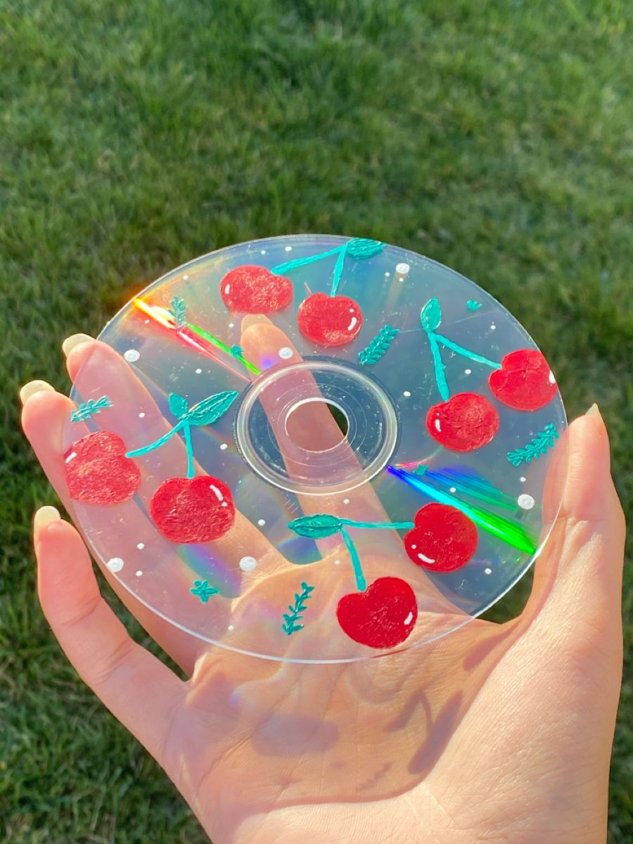 Teen Night: Painted CD Art