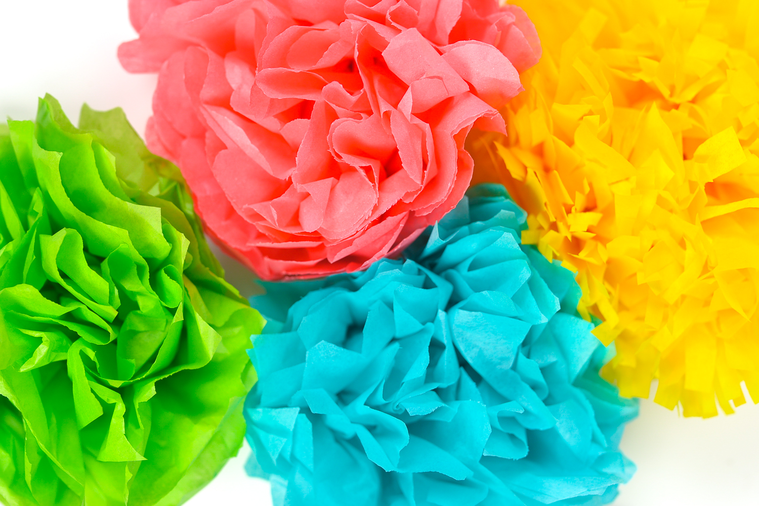 Take and Make - Saturday STEAM: Tissue Paper Flowers
