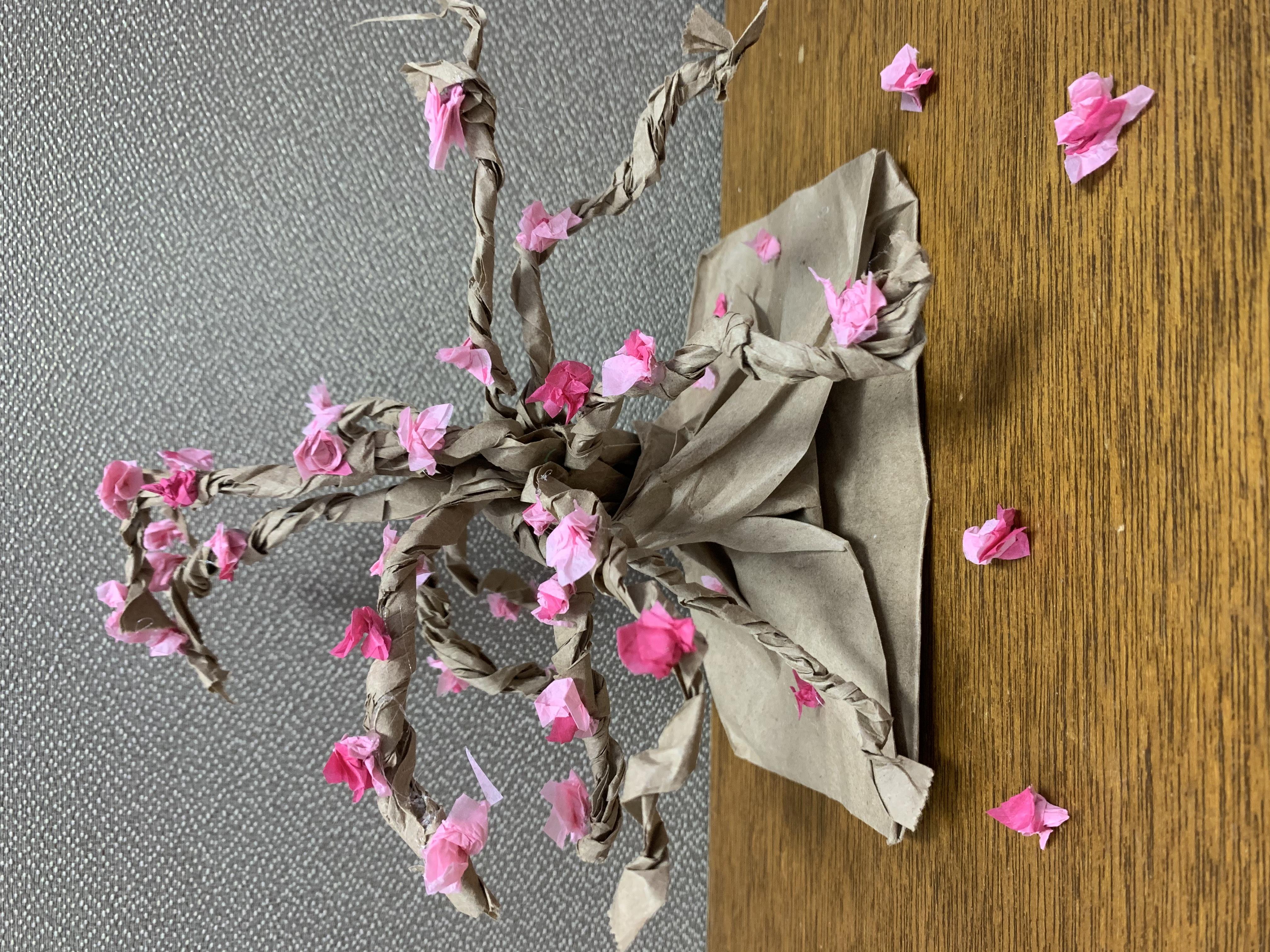 Kids' Class: Paper Bag Tree Sculpture