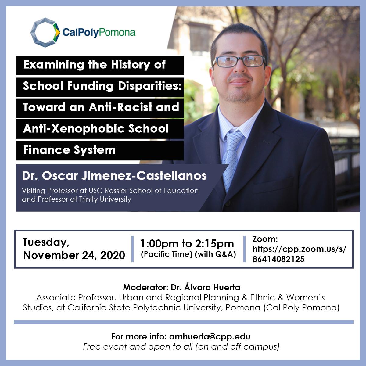 Examining the History of School Funding Disparities: Toward an Anti-Racist and Anti-Xenophobic School Finance System