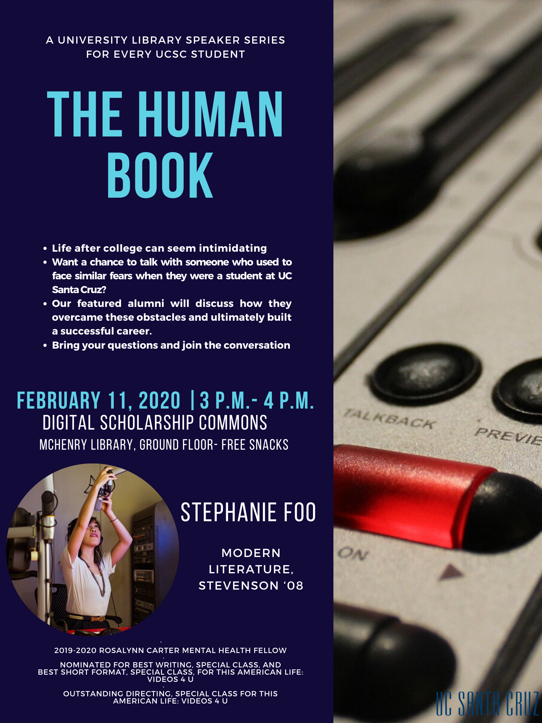 The Human Book with Stephanie Foo