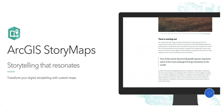 Digital Tools Review: ArcGIS Online + StoryMaps