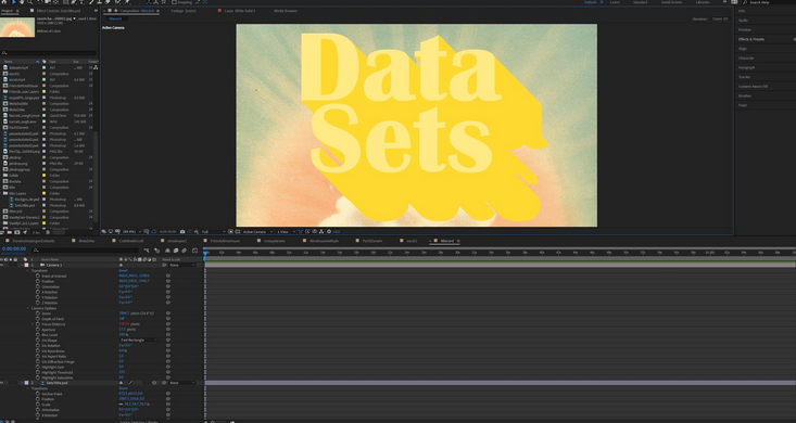 Working Session: Adobe After Effects