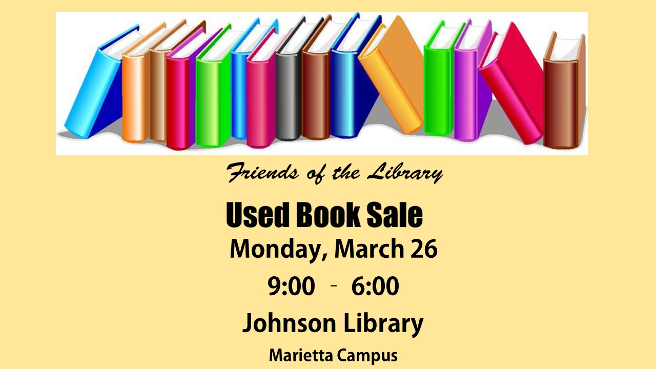 Friends of the Library Used Book Sale at Johnson Library