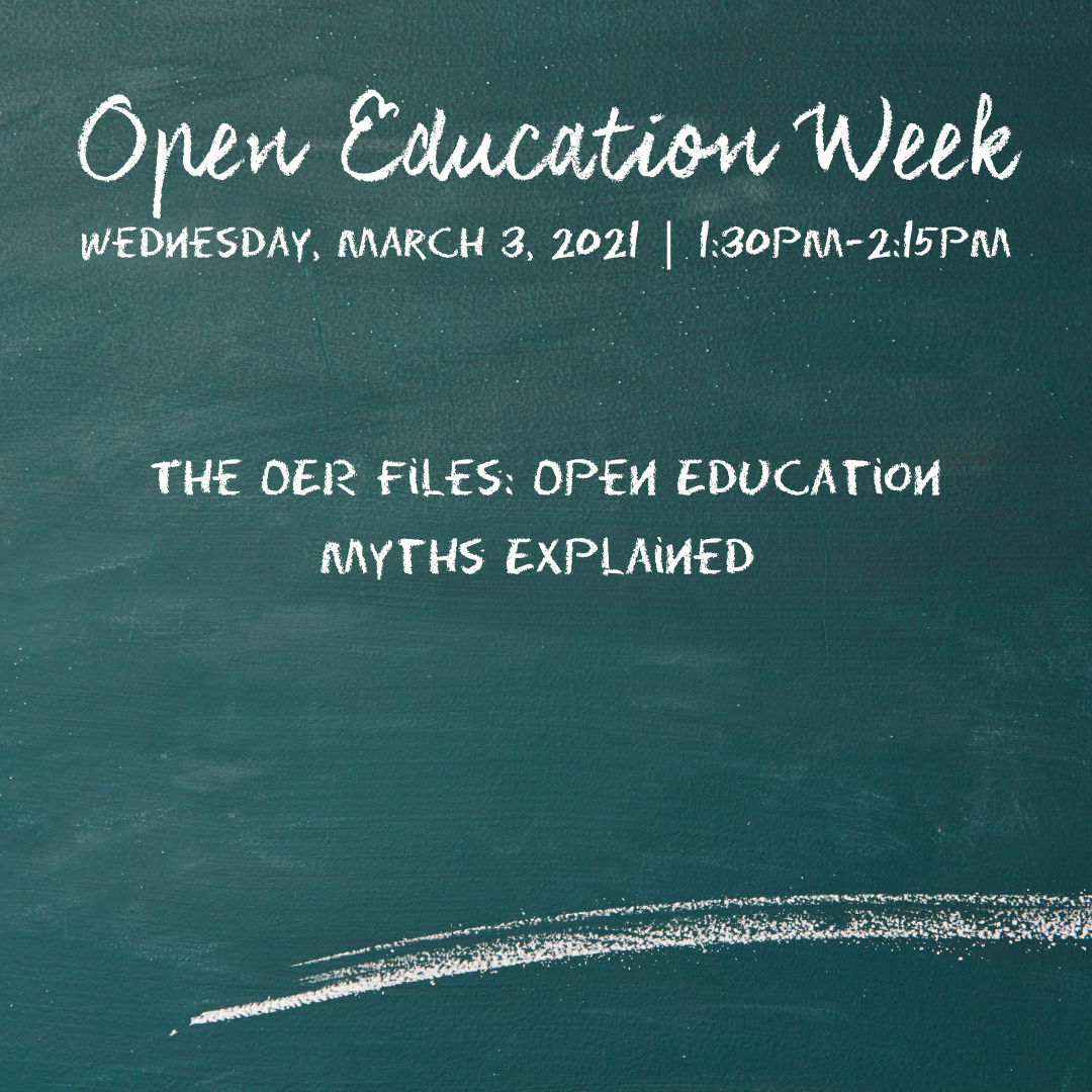 The OER Files: Open Education Myths Explained