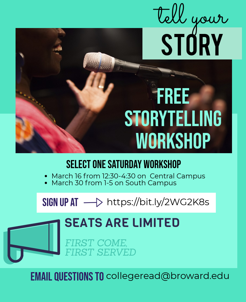 Tell Your Story - FREE storytelling workshop