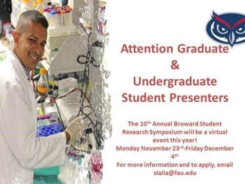 10th Annual FAU-Broward Student Research Symposium