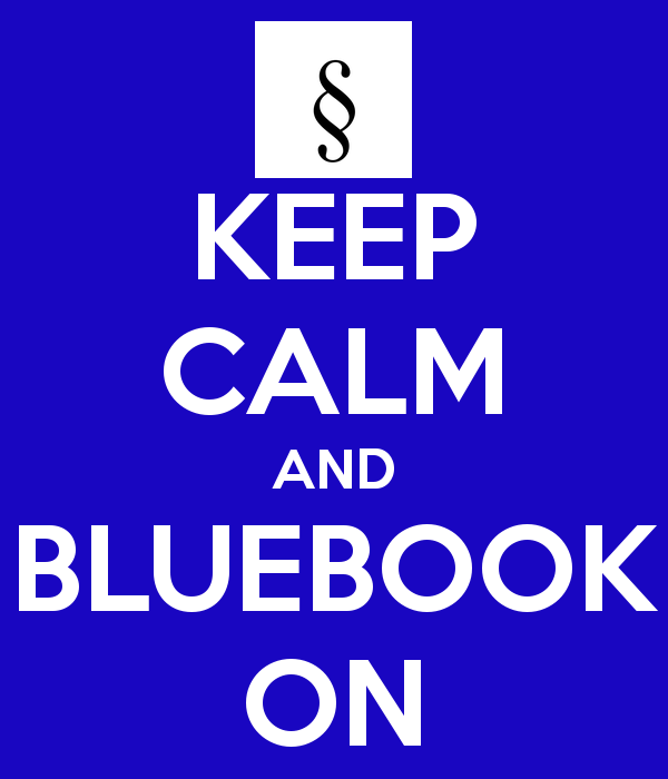 HONORS SECTION:  The Bluebook in Legal Practice RSW
