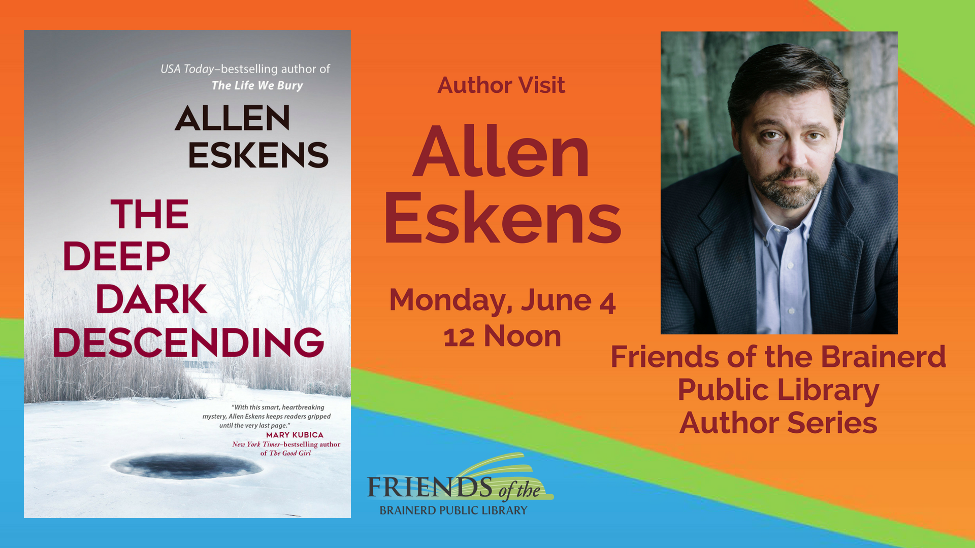 Brown Bag Author Visit: Allen Eskens