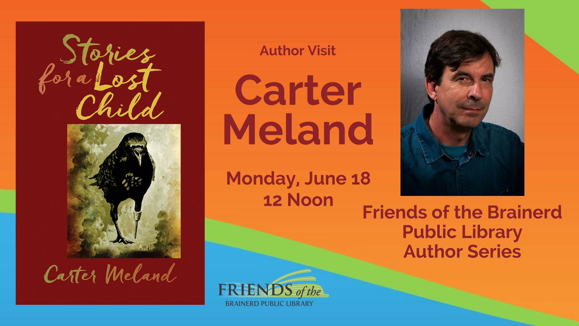 Brown Bag Author Visit: Carter Meland