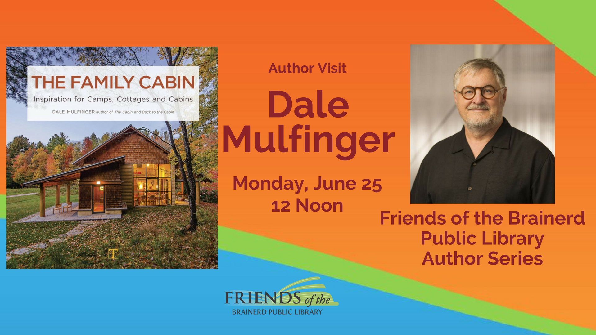 Brown Bag Author Visit: Dale Mulfinger