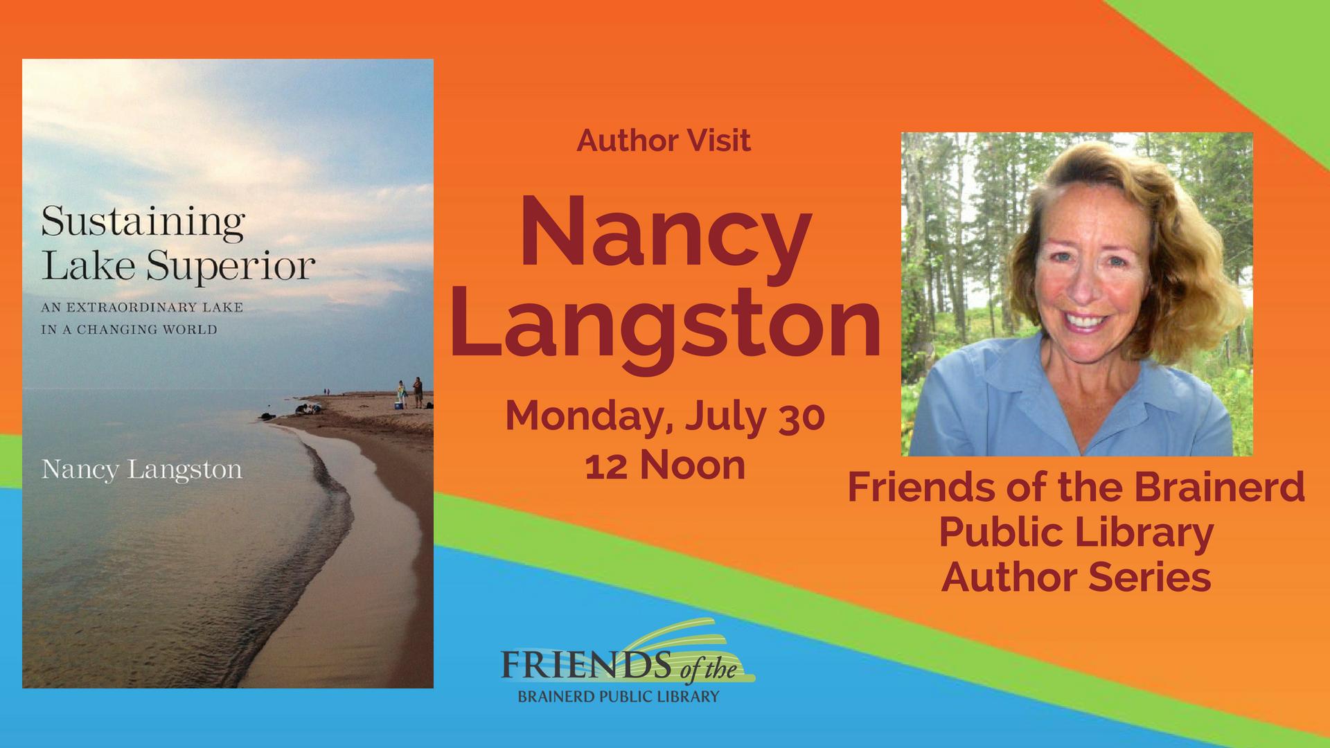 Brown Bag Author Visit: Nancy Langston