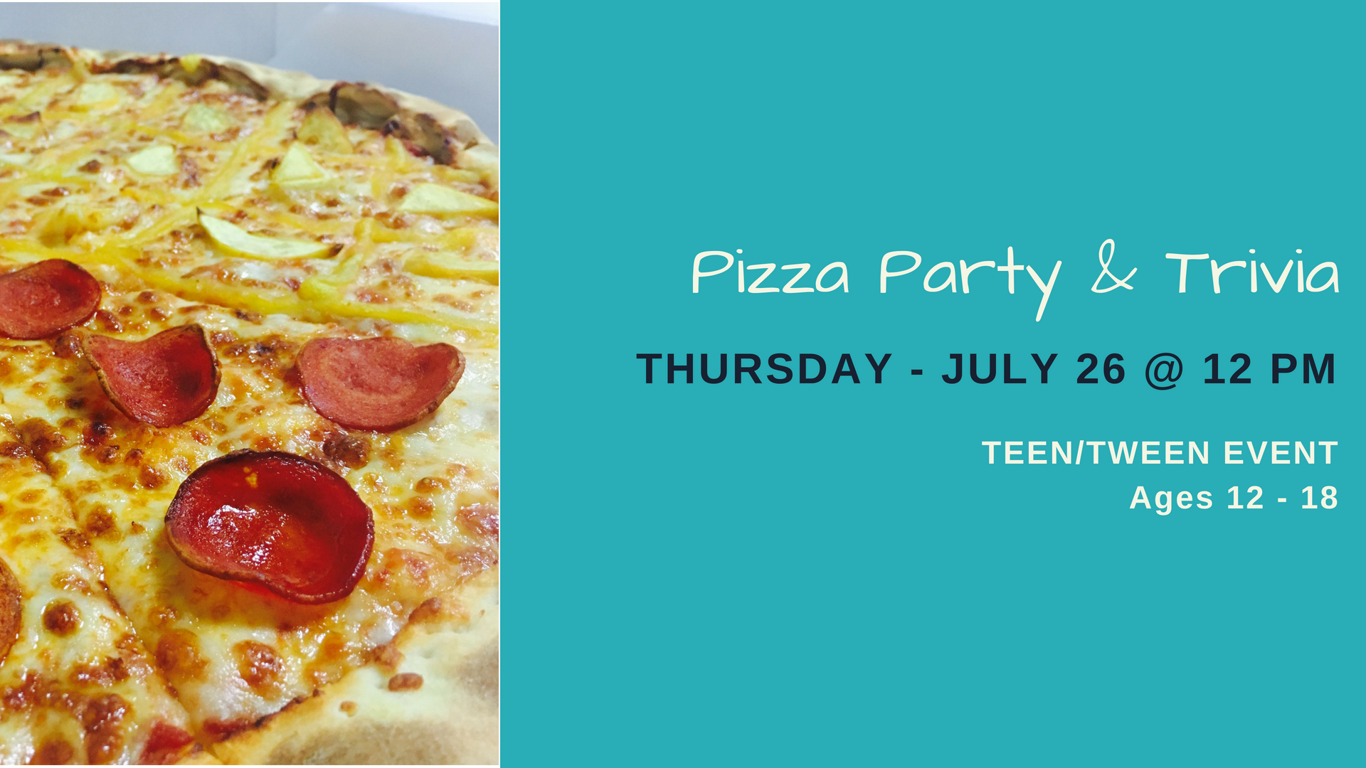 Teen Pizza & Trivia Party