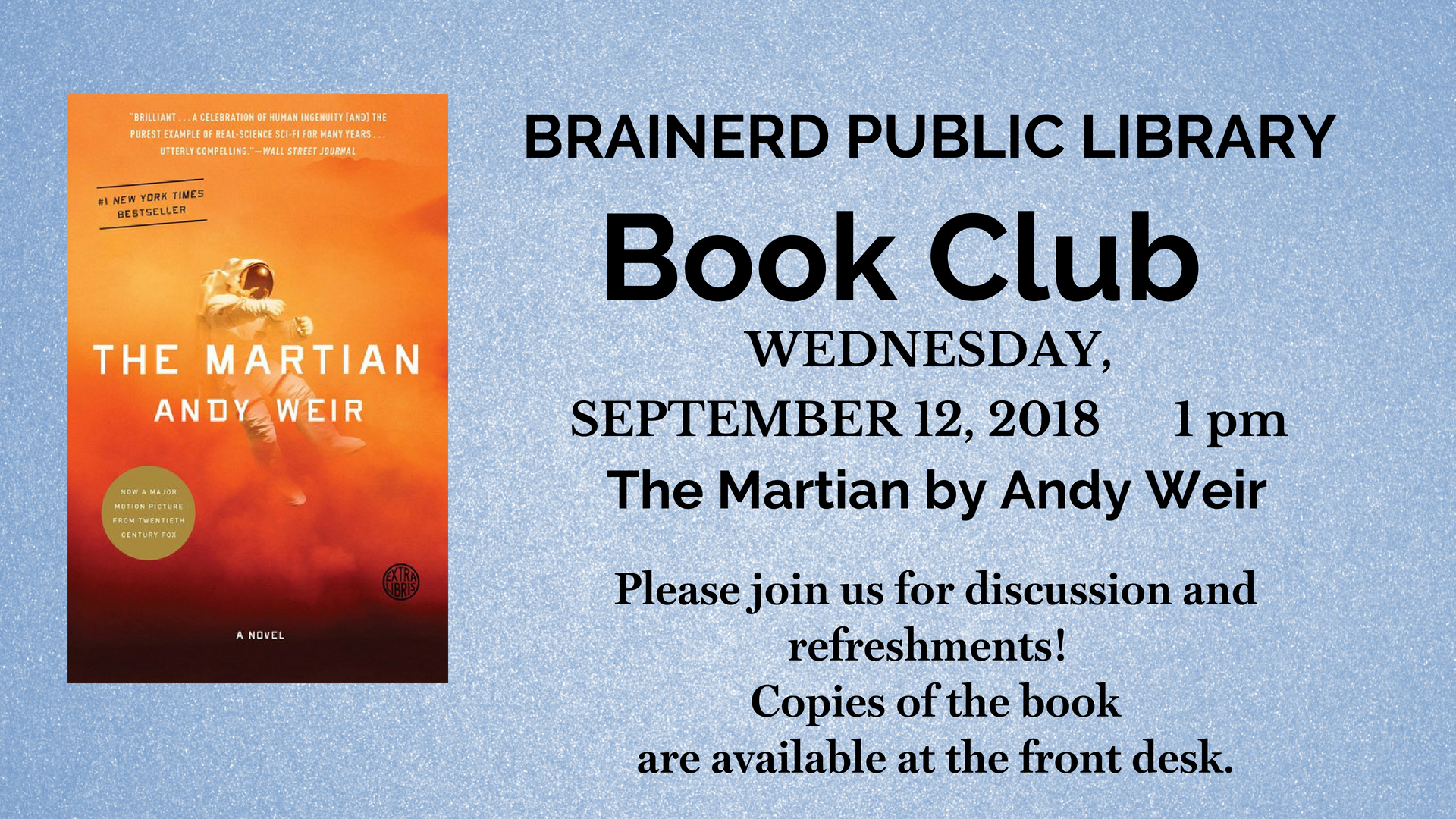 Brainerd Book Club