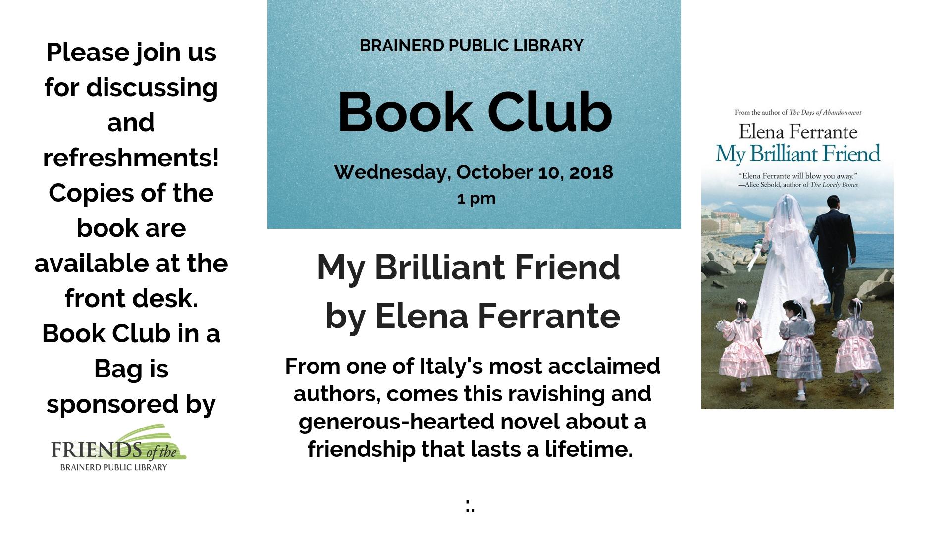 Brainerd Book Club