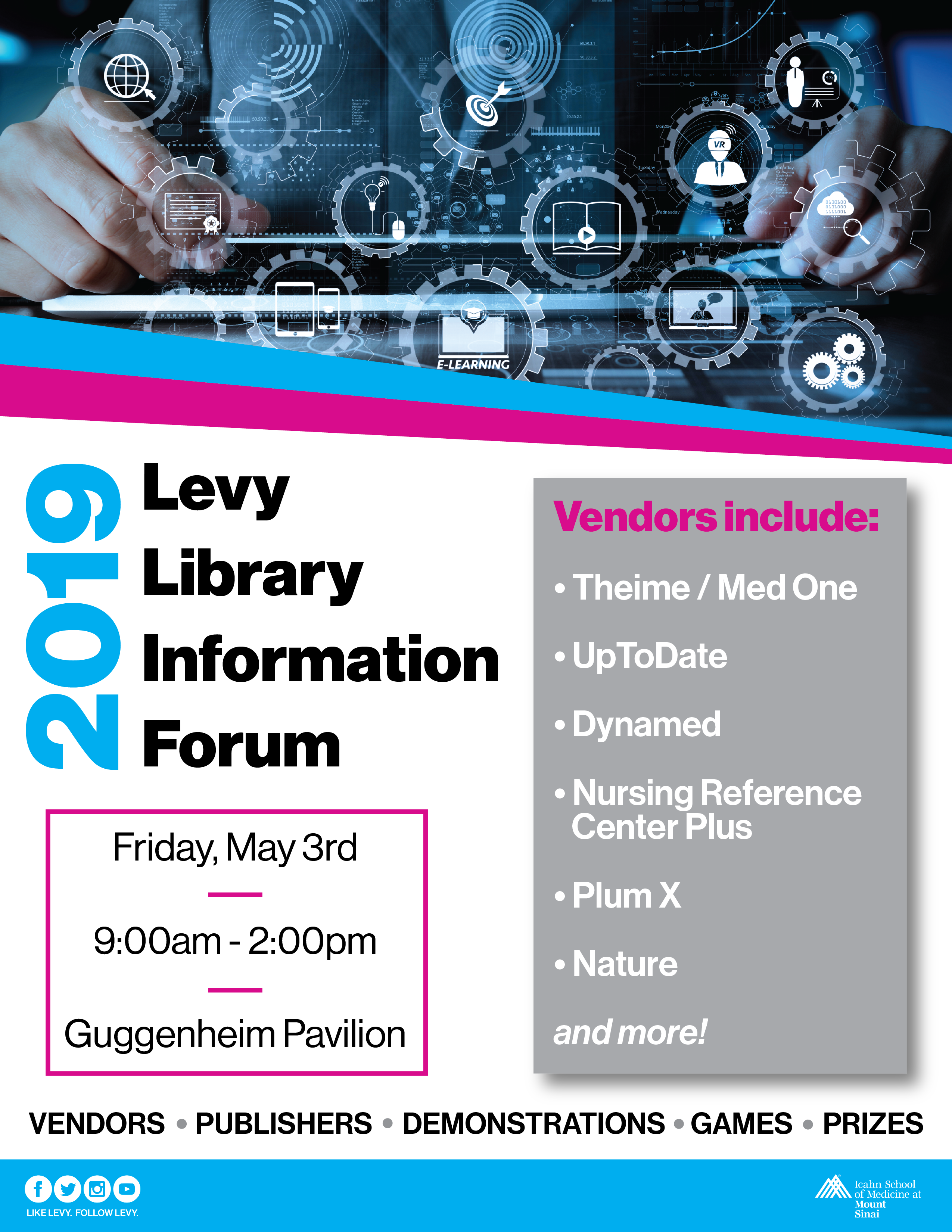 2019 Levy Library Information Forum