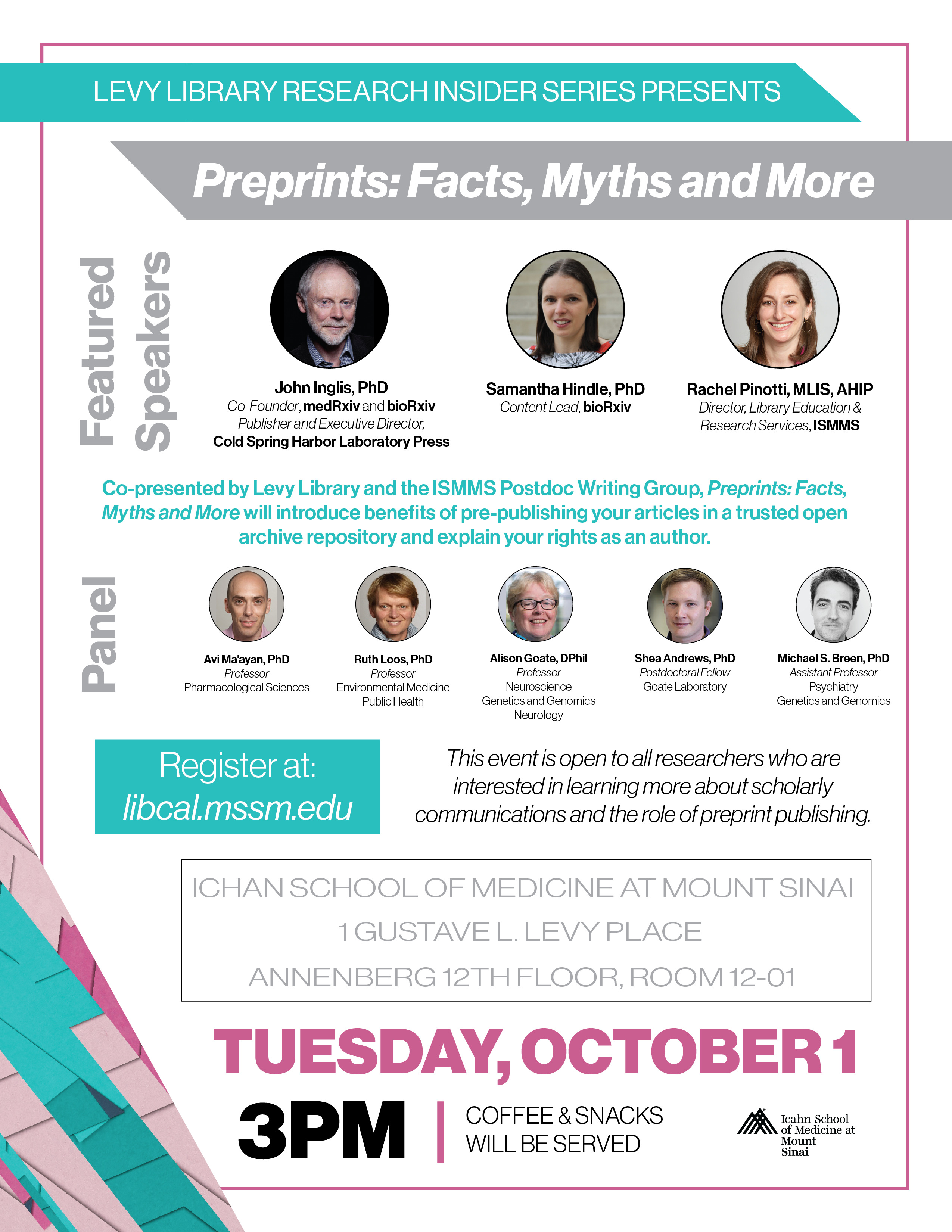 Preprints: Facts, Myths and More