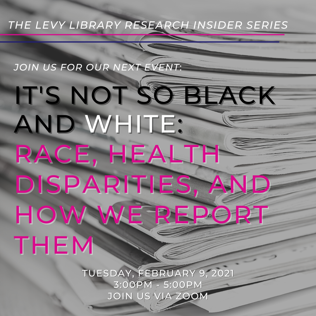 It's Not So Black and White: Race, Health Disparities, and How We Report Them