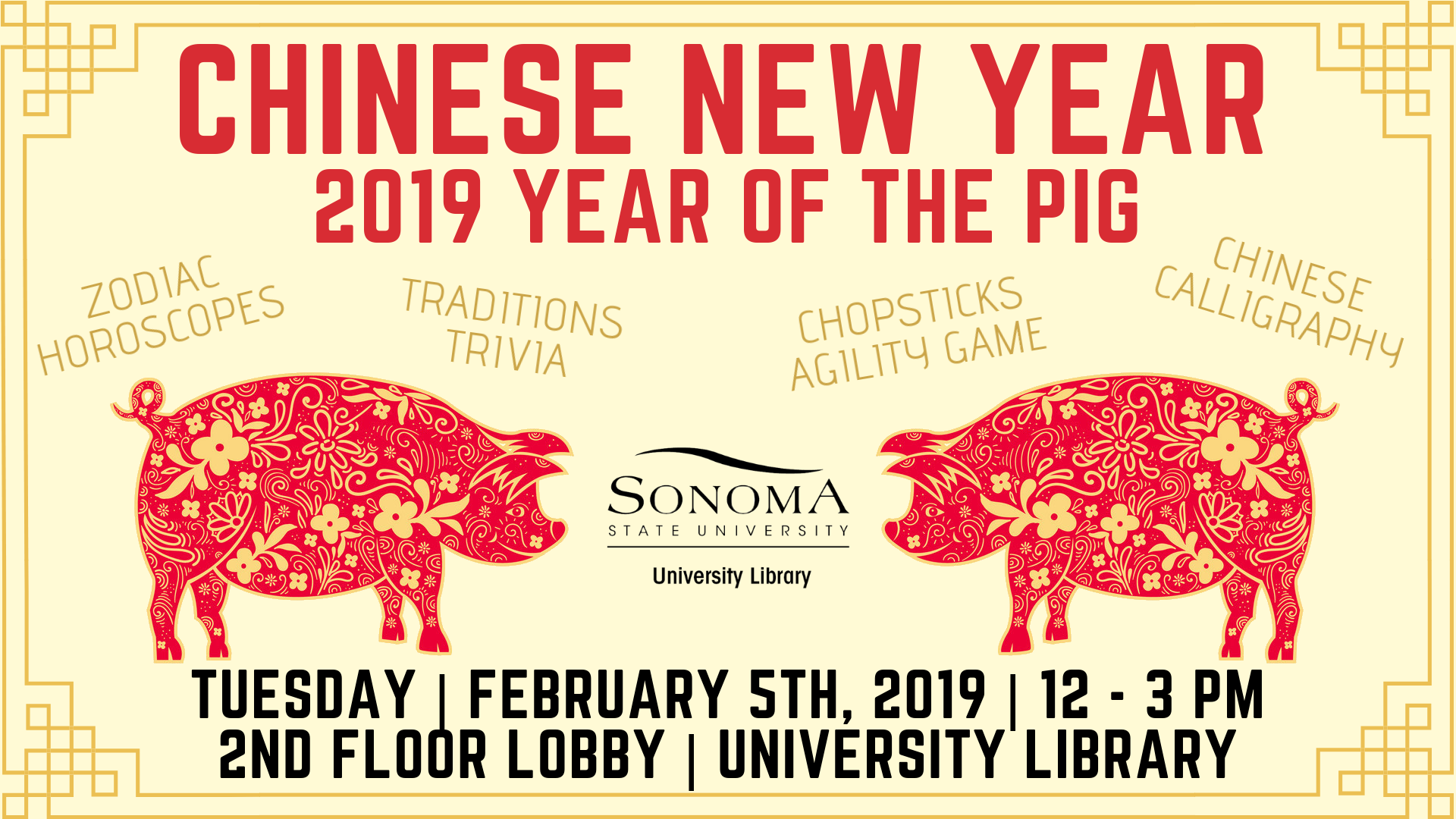 Chinese New Year at the Library