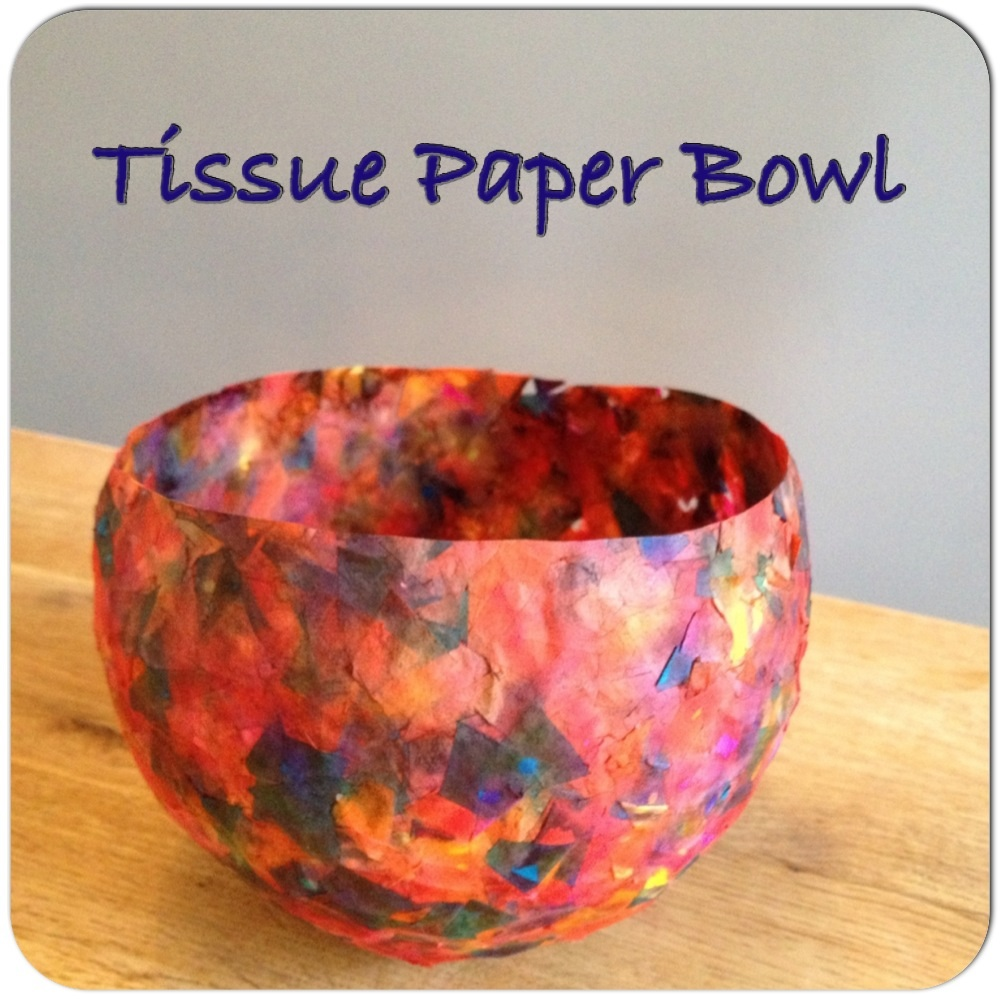 Library Craft Night - Paper Bowl