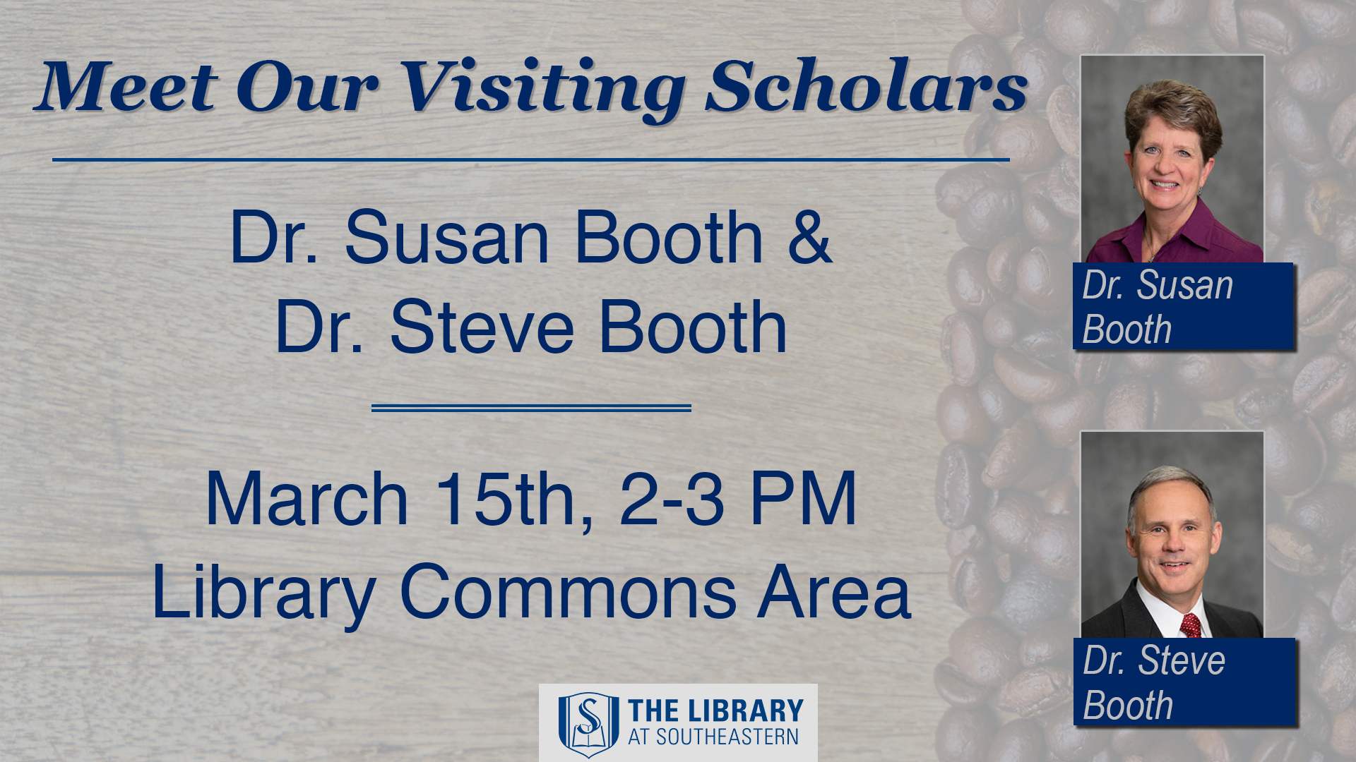 Meet Our Visiting Scholars