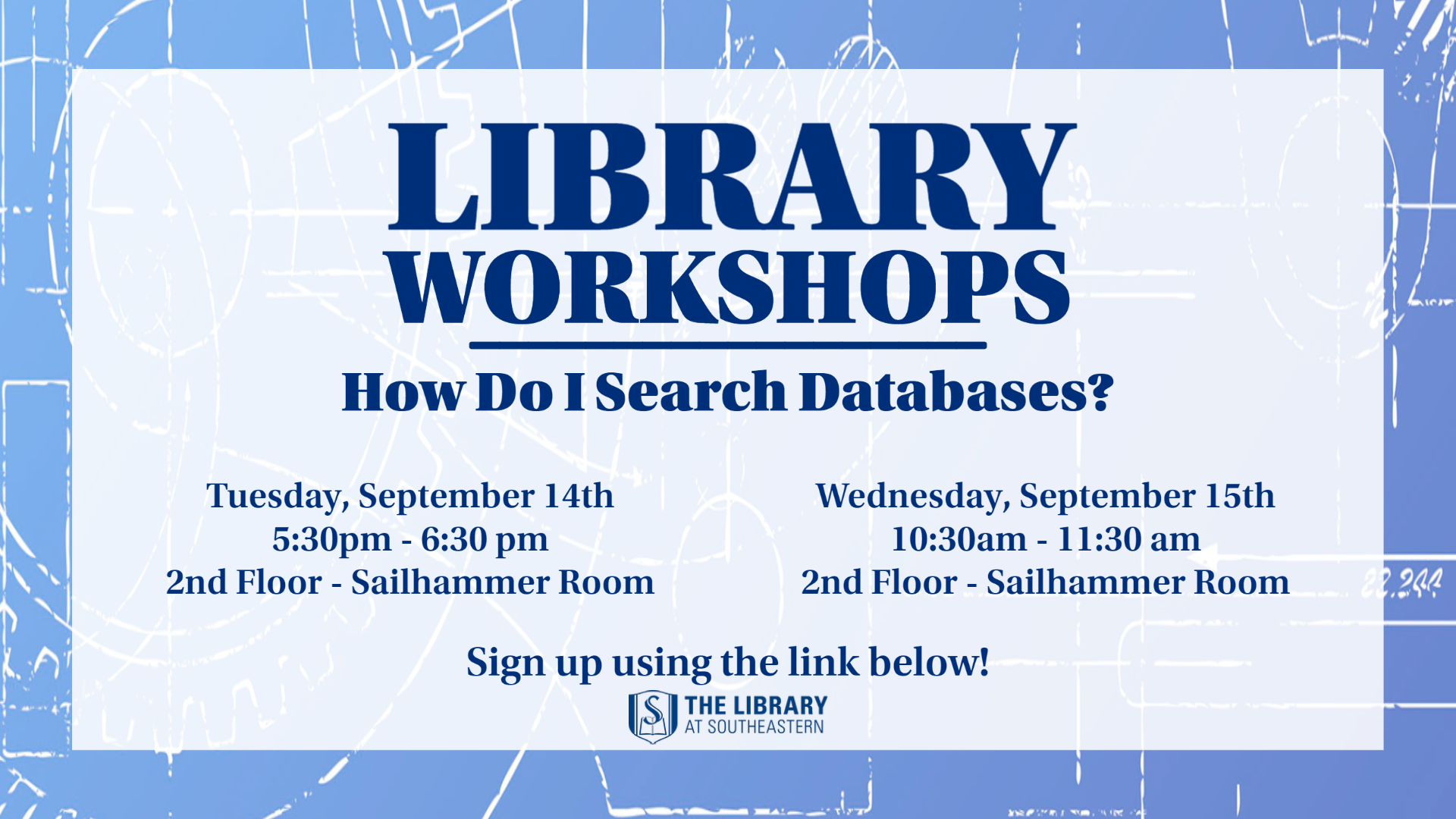 Workshop: How do I Search Databases?