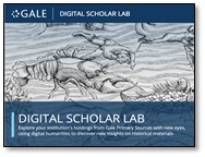 Gale Digital Scholar Lab:  Workshop and Lunch