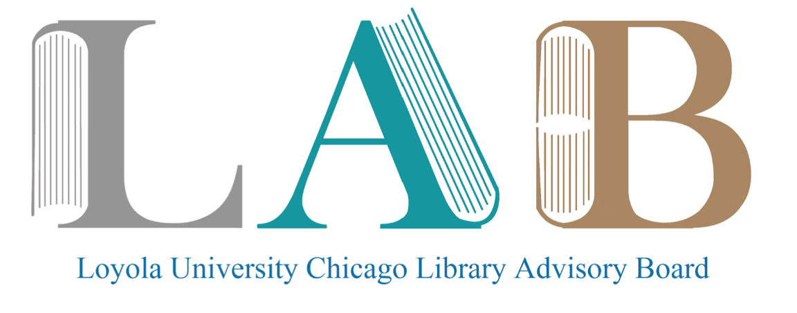 Library Advisory Board Spring 2019 Meeting
