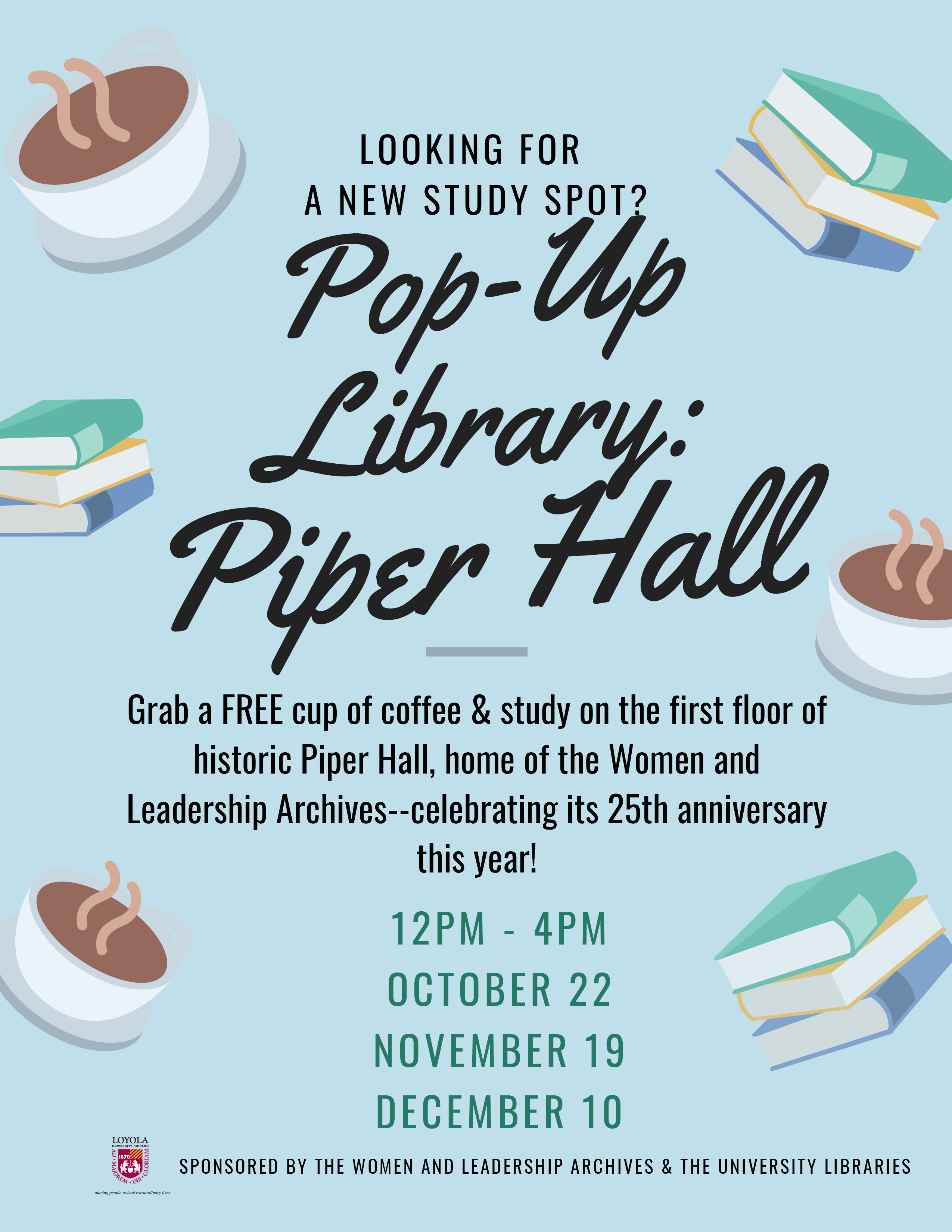 Pop-Up Library: Piper Hall