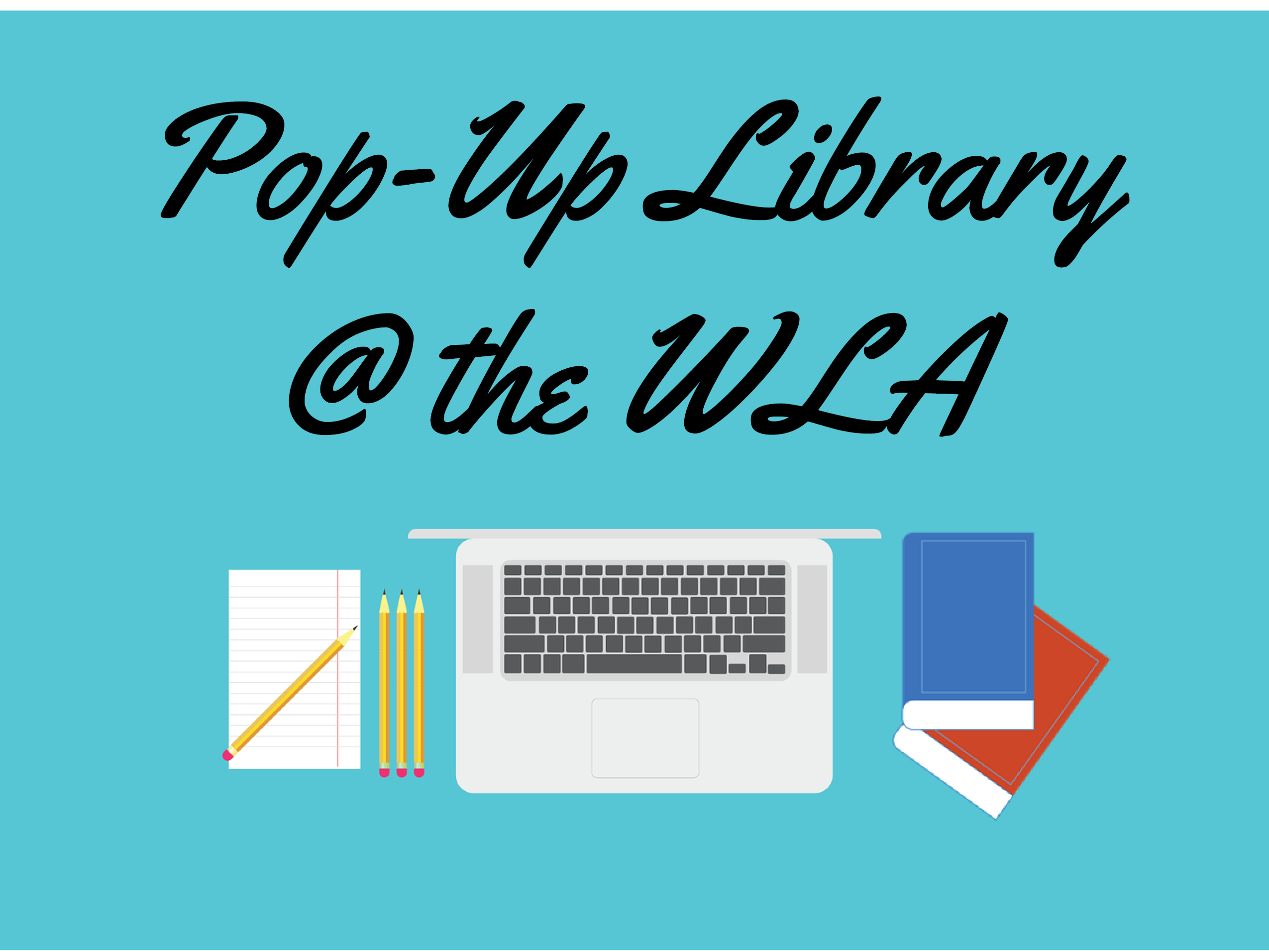 Pop-Up Library at the WLA