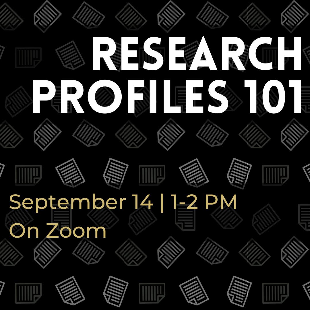 Research Profiles 101