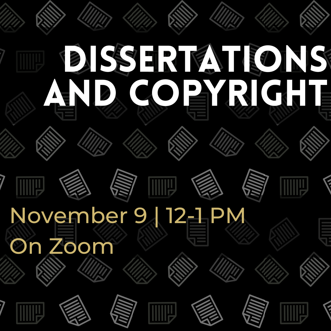 Dissertations and Copyright