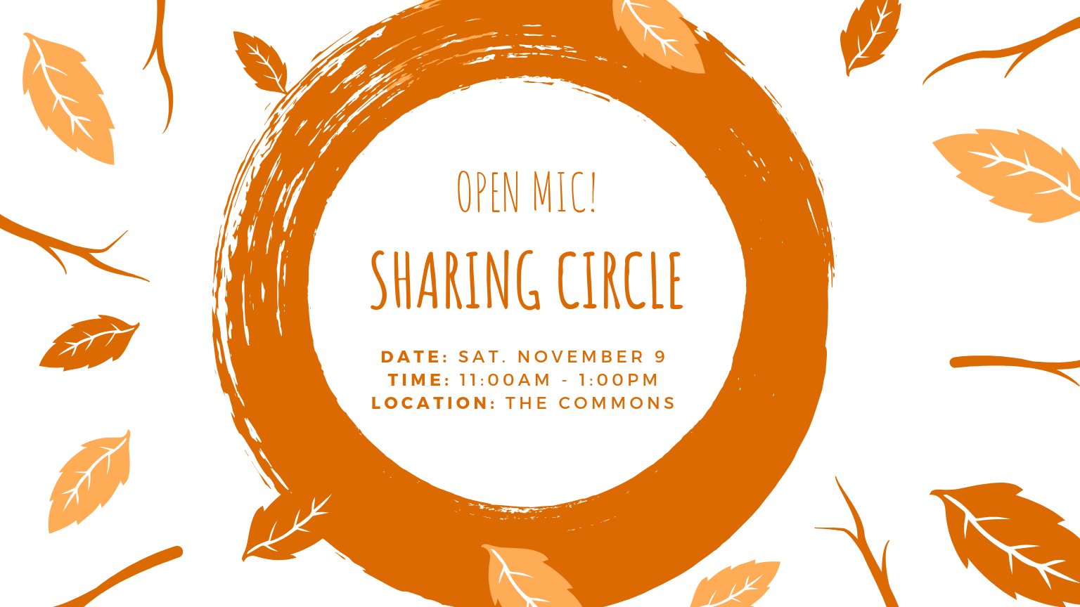 Open Mic! by PoeTree's Sharing Circle