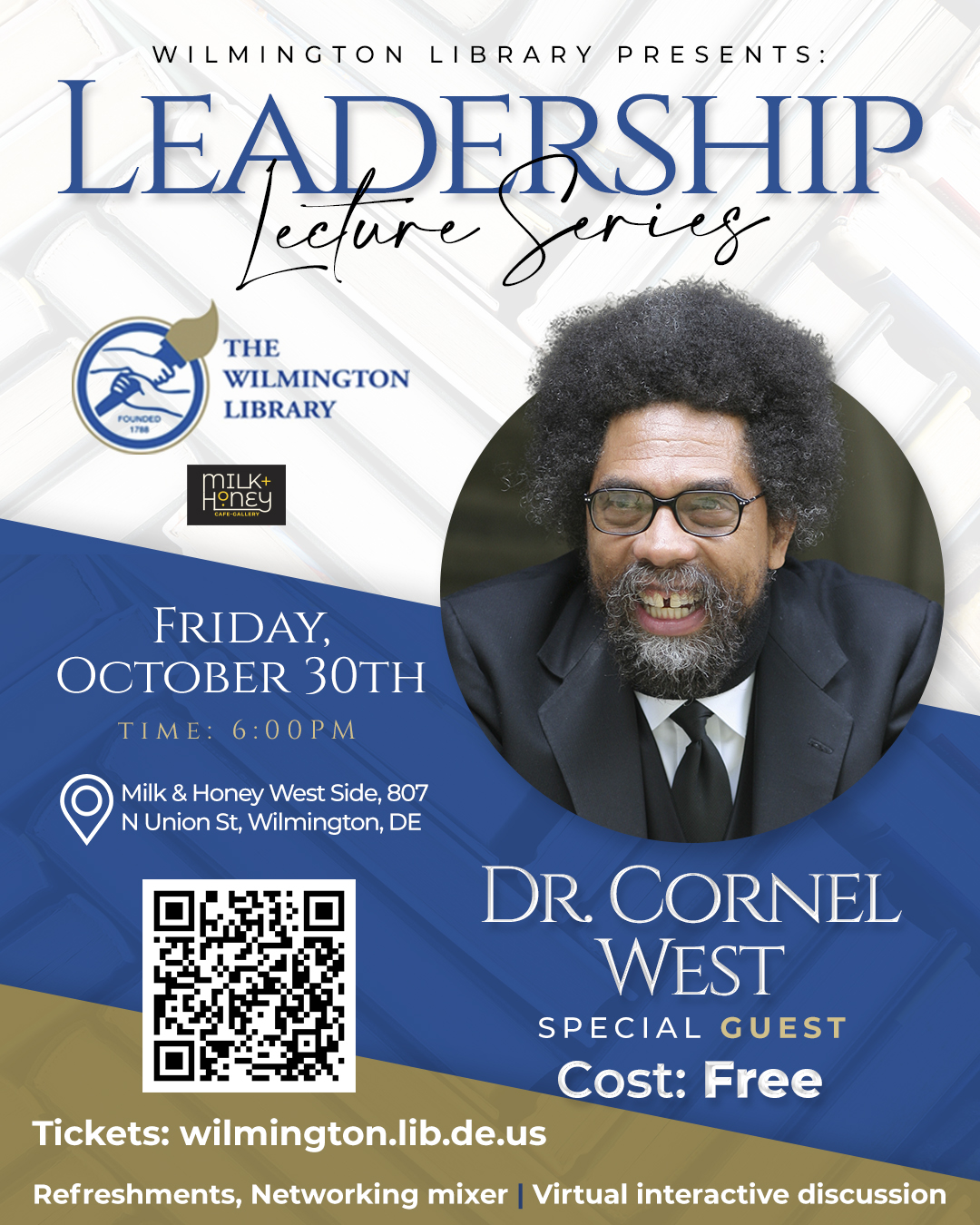 A Virtual Evening with Dr. Cornel West
