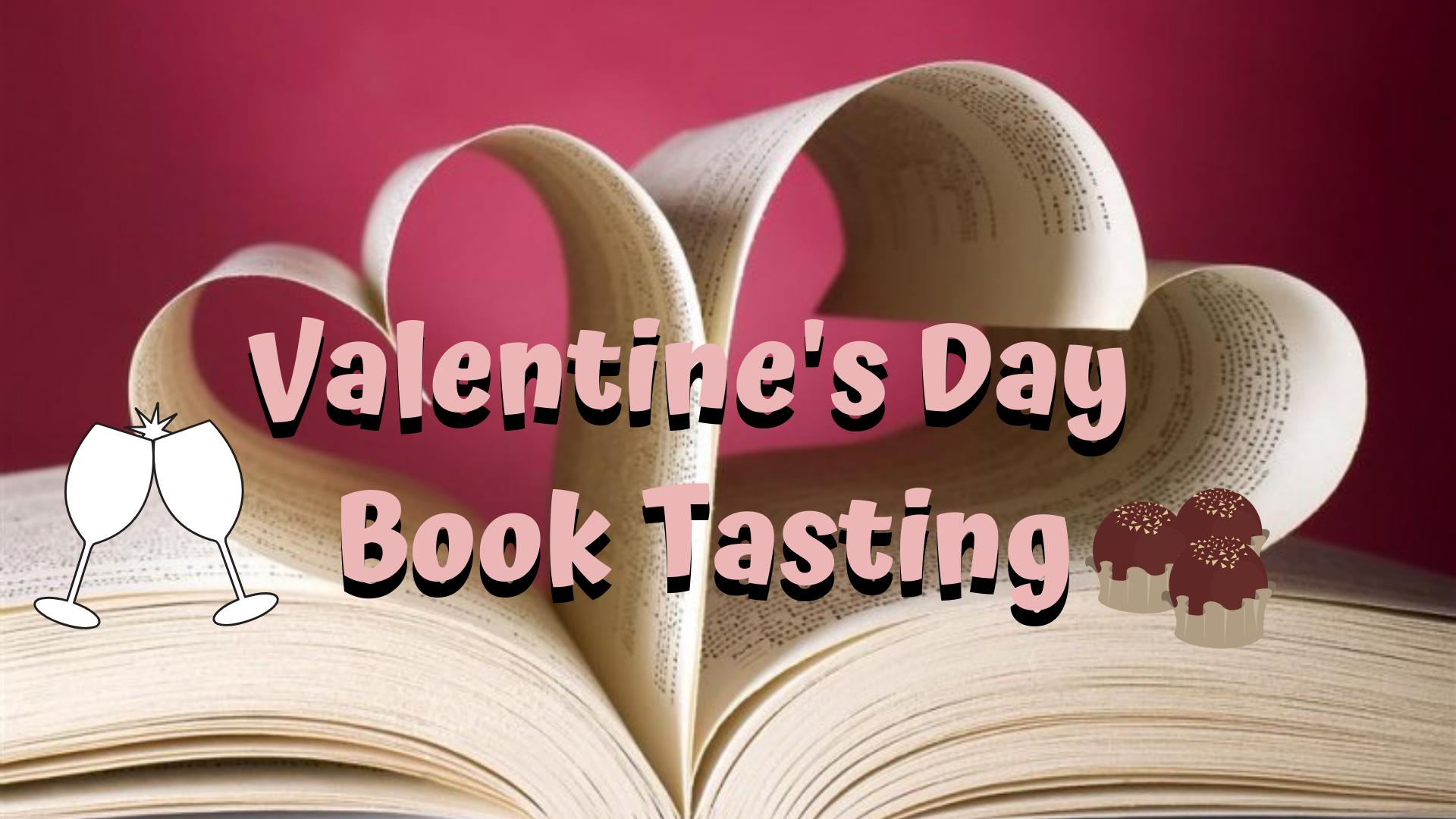 Valentine's Day Book Tasting